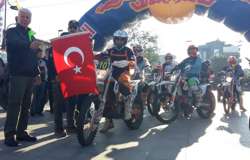 """""""Baja Troia Turkey"""" Çanakkale'de Başladı"""