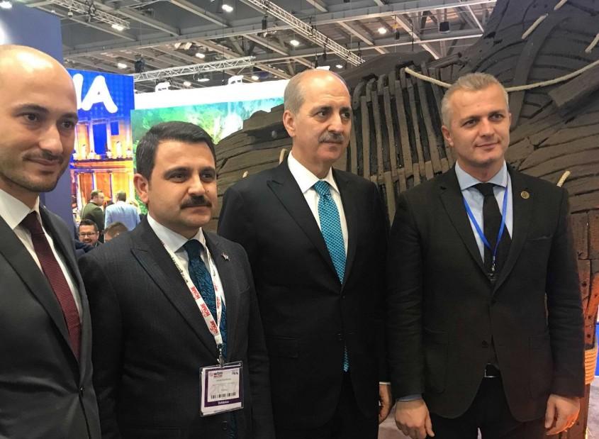 Kültür ve Turizm Bakanından Çanakkale Standına Ziyaret