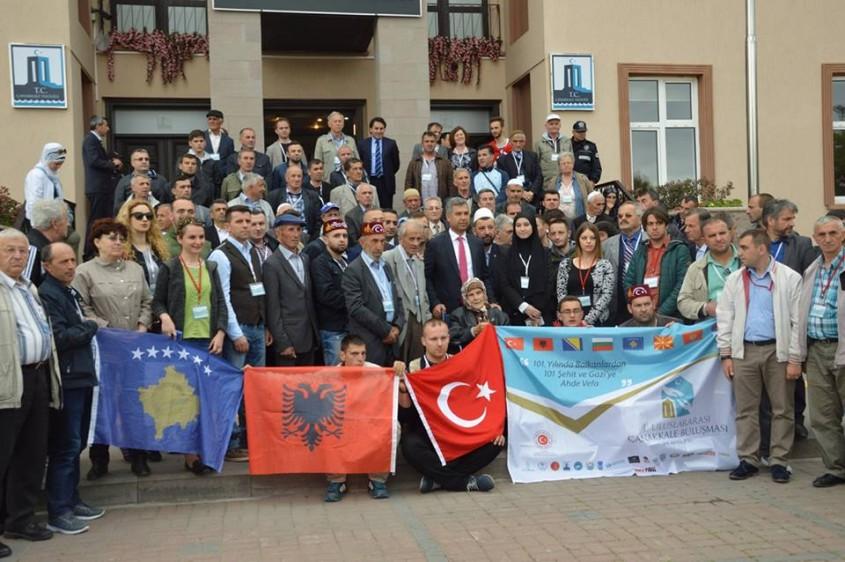 Balkanlardan 101 Şehit ve Gazi Torunu Çanakkale'de Buluştu