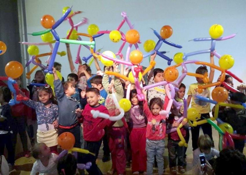 Çanakkaleli Minikler Balon Katlamayı Öğrendi