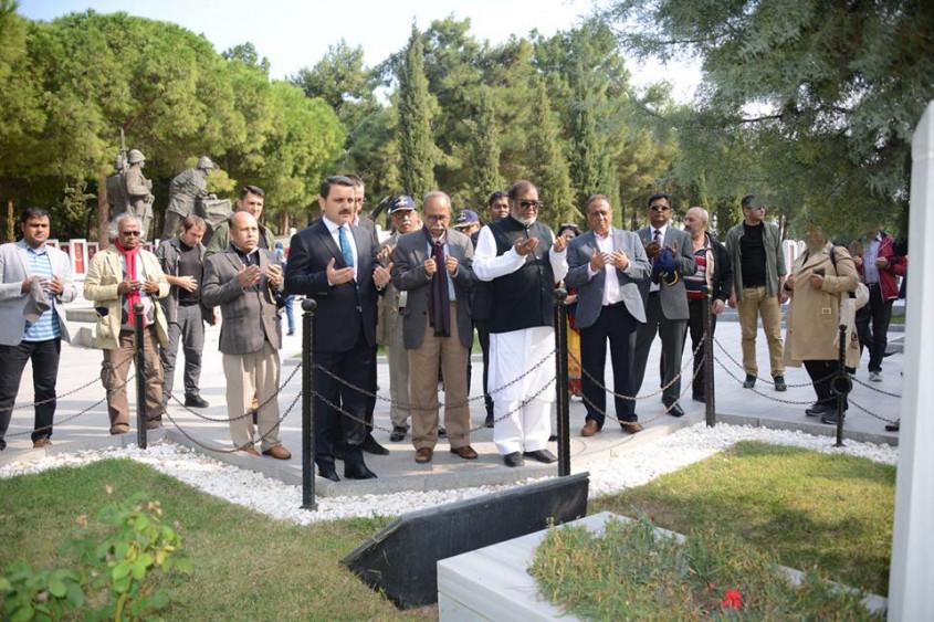 Bangladeş Kurtuluş Savaşı İşleri Bakanı Gelibolu Yarımadası'nda