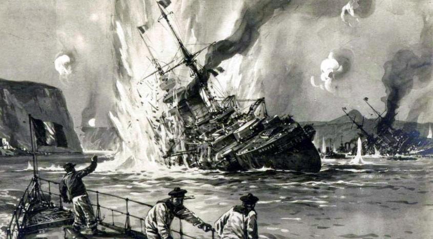 İşte Tarihi Gemiler ile Topları Hurda Niyetine Böyle Sattılar!