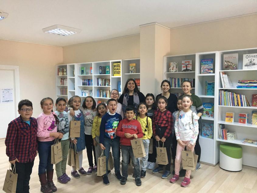 Çocuk Kültür Evi Bayramiç Mustafa Kemal İlkokulu'nu Konuk Etti