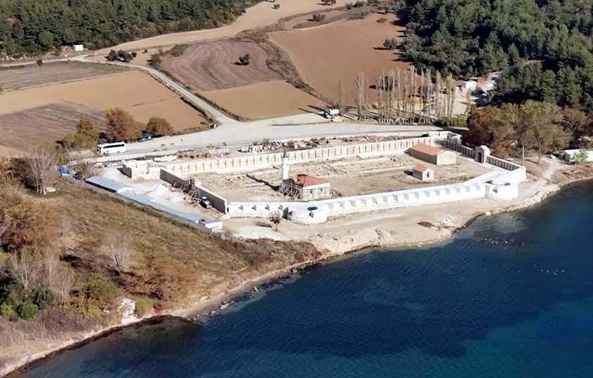 199 Yıllık Tarihi Bigalı Kalesi'nin Restorasyonu Tamamlanıyor