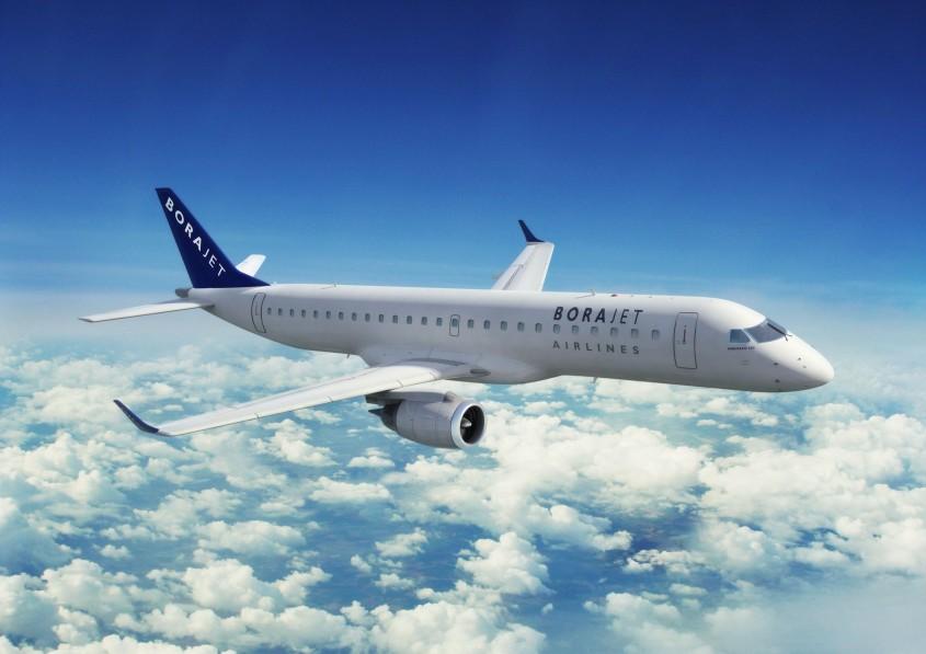 Borajet Uçağı Çanakkale Havaalanına Zor İndi