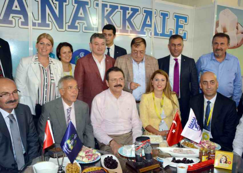 """Çanakkale """"Antalya Yörex Yöresel Ürünler Fuarı""""da Tanıtıldı"""