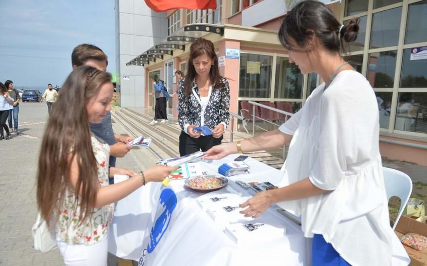 Çanakkale Belediyesi Yeni ÇOMÜ'lülere Kenti Tanıtıyor