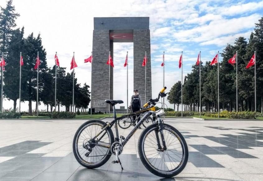 Yüzlerce Bisikletsever Çanakkale'de Buluşacak