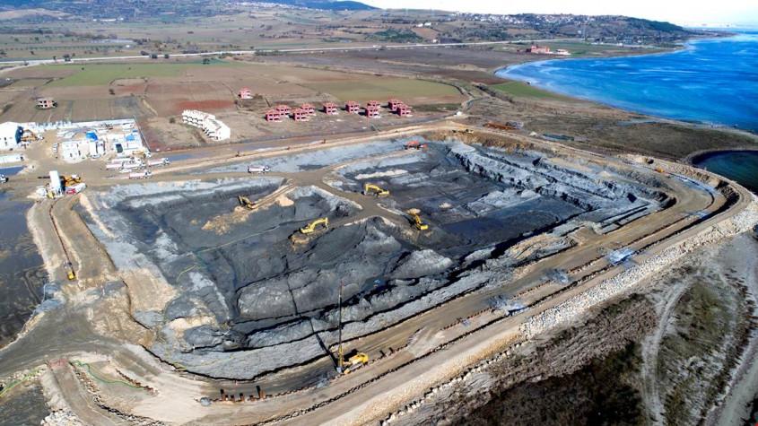 Vali Orhan Tavlı, Boğaz Köprüsü İnşaatı Çalışmalarını İnceledi