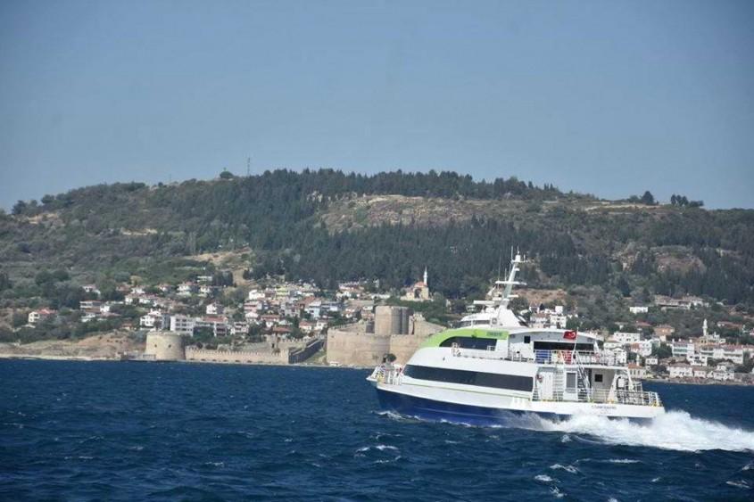 Çanakkale-Bozcaada Deniz Otobüsü Seferleri Başladı