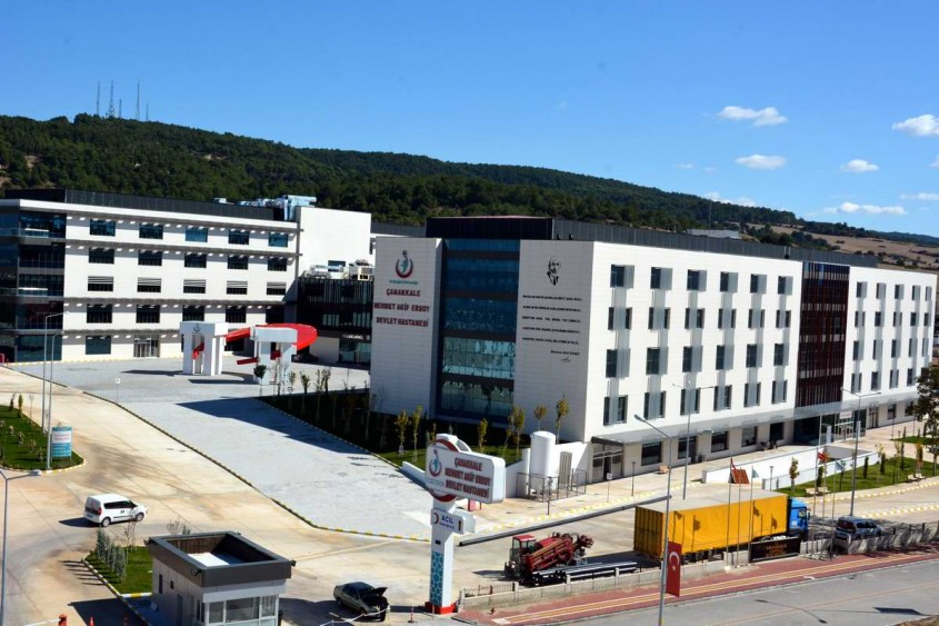 Çanakkale Devlet Hastanesi 22 Ekim'de Yeni Yerine Taşınıyor
