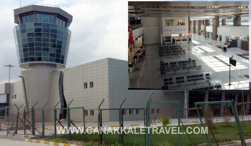 Çanakkale Havalimanı Yeni Terminal Binası Hizmete Girdi