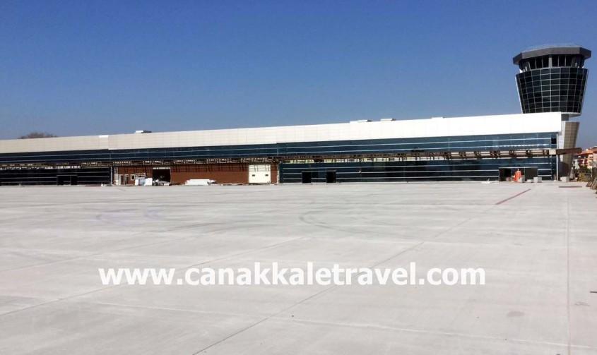 İşte Çanakkale'nin Yeni Havalimanı Terminal Binası