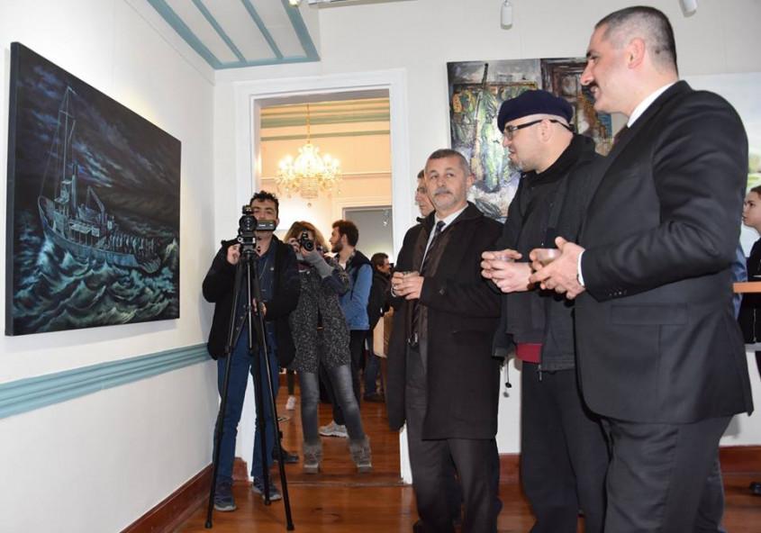 """""""Çanakkale İçinde"""" Resim Sergisi Açıldı"""