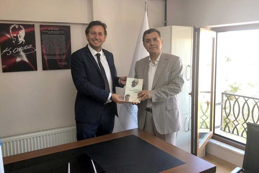 İl Kültür ve Turizm Müdürü Dokuz'dan Rehberler Odası'na Ziyaret