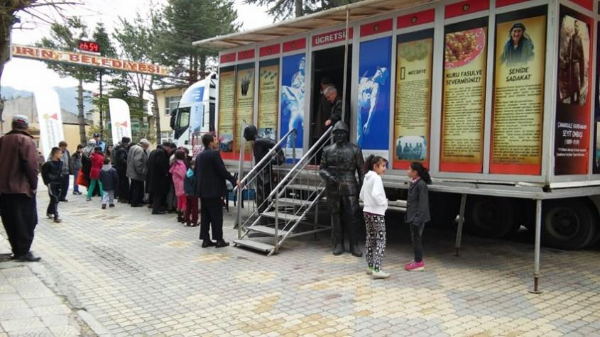 Gezici Tır, Türkiye Yolculuğunu Tamamlamak Üzere