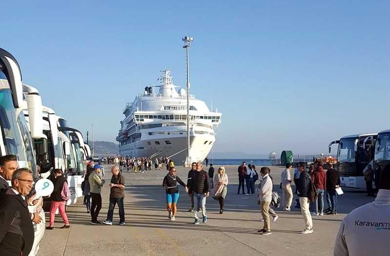 Çanakkale'ye Yeniden Turist Gemileri Gelmeye Başladı!