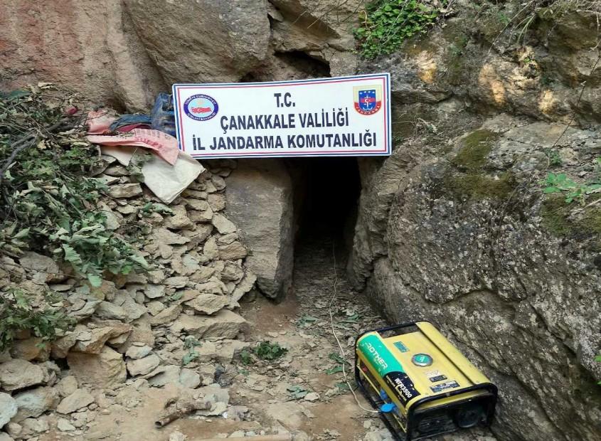 Çanakkale'de Kaçak Kazı Operasyonu