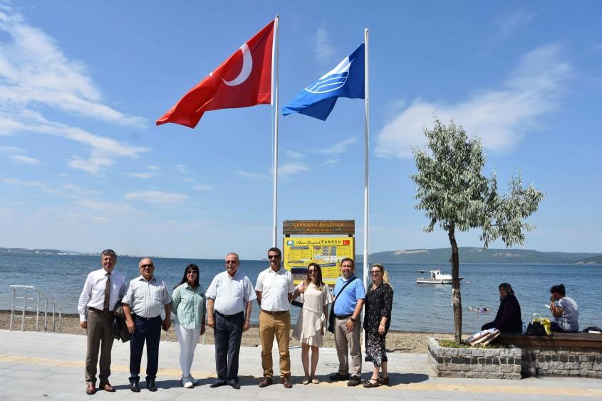 Mavi Bayrak Barış Plajında 5. Kez Dalgalanıyor