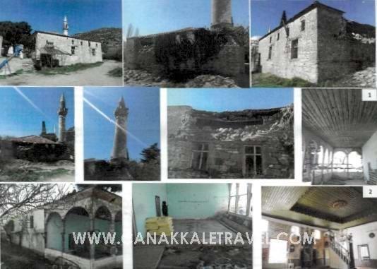 Ayvacık'taki 150 Yıllık Tarihi Cami Restore Edilecek