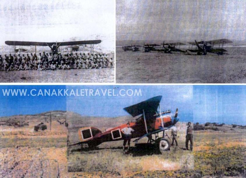 Çanakkale'deki Tarihi Havaalanının Bulunduğu Bölge Artık Koruma Altında