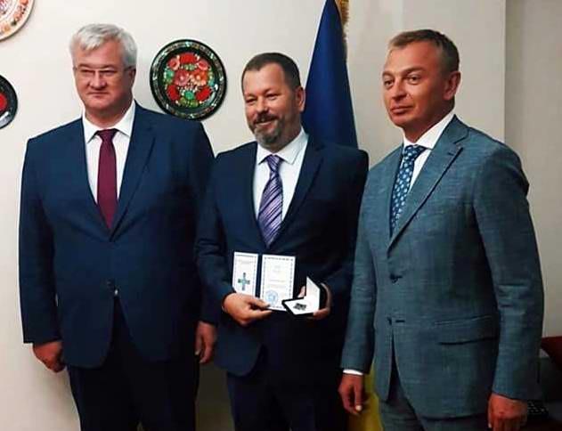 Çanakkaleli İşadamına Ukrayna Devletinden Şeref Madalyası