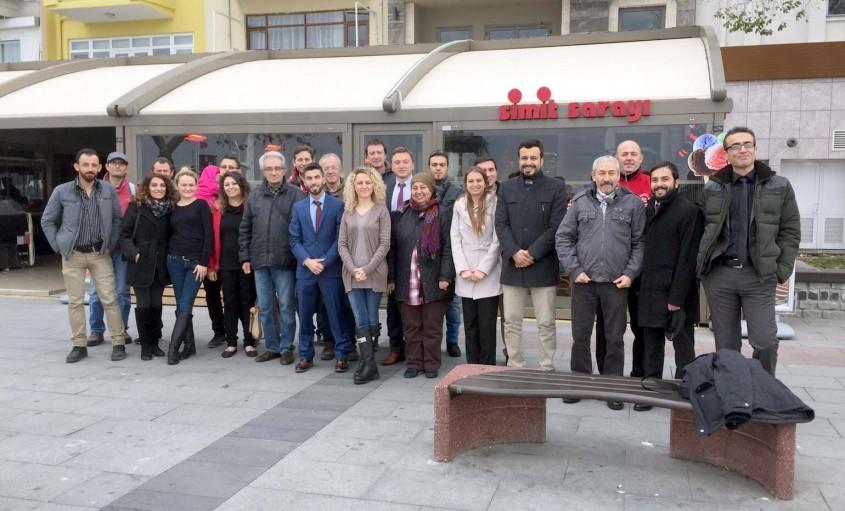 Çanakkale Rehberler Odası'nda Adem Biçer Güven Tazeledi