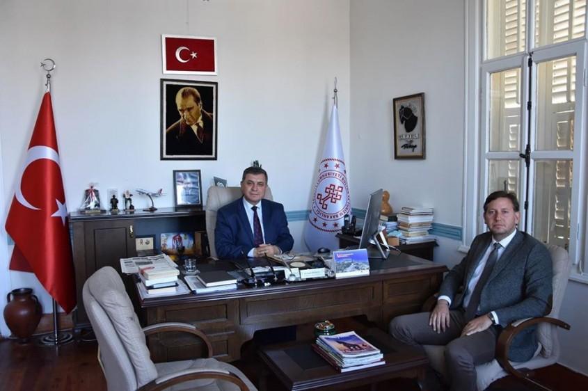 ÇARO'dan İl Kültür ve Turizm Müdürü Kemal Dokuz'a Ziyaret