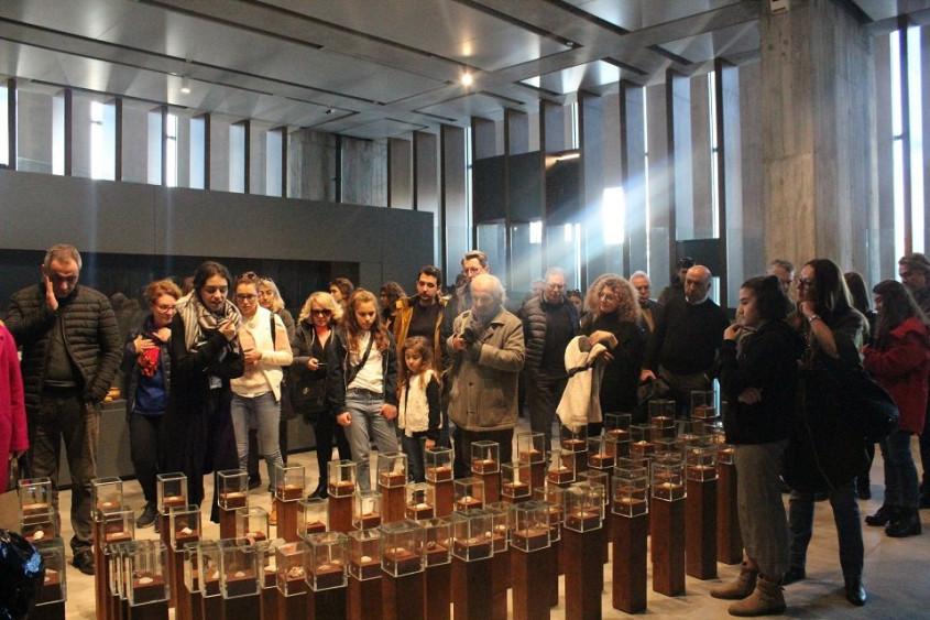 ÇASİAD Üyeleri Troya Müzesi'ni Gezdi