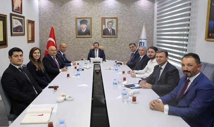 ÇATOD Yeni Yönetiminden Vali Tavlı'ya Ziyaret