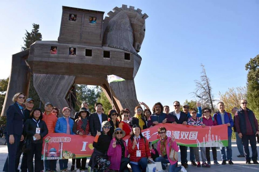 Çin Vatandaşlarından Çanakkale'ye Kültür Gezisi