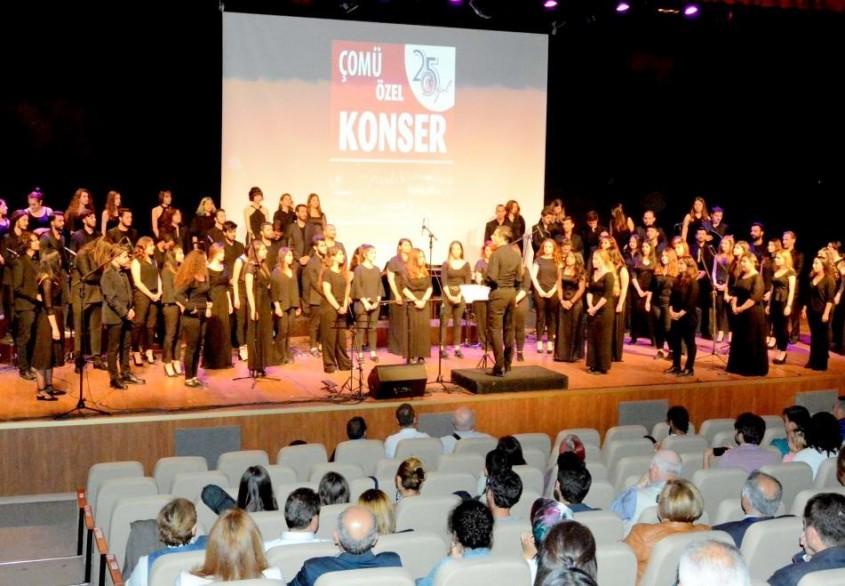 ÇOMÜ'den 25. Yıl Konseri