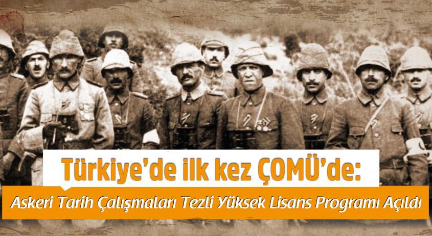Türkiye'de İlk Kez ÇOMÜ'de Açıldı...
