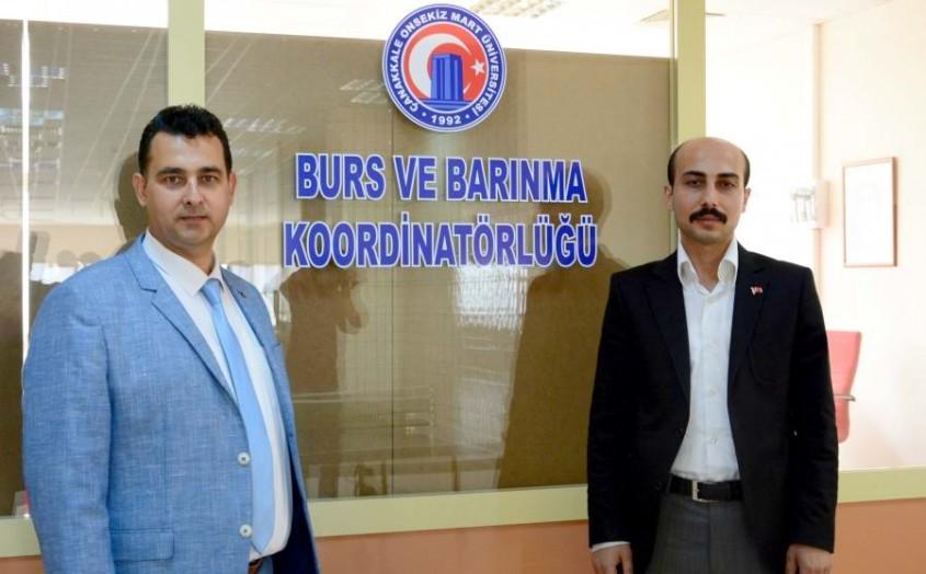 Türkiye'de Bir İlk, ÇOMÜ'de Burs ve Barınma Koordinatörlüğü Açıldı