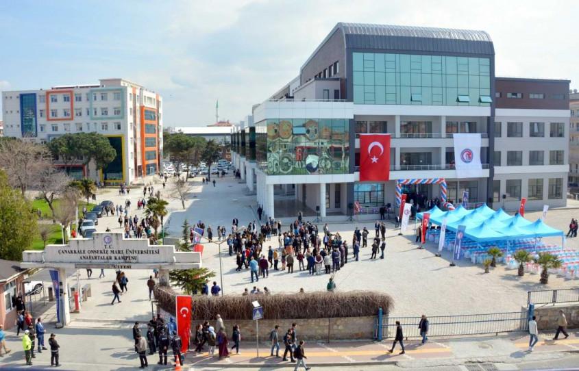 ÇOMÜ Eğitim Fakültesi Yeni Binası Törenle Hizmete Girdi