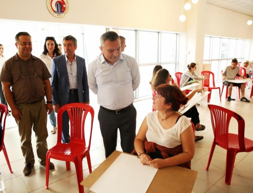 ÇOMÜ Güzel Sanatlar Fakültesi Yetenek  Sınavına Büyük İlgi