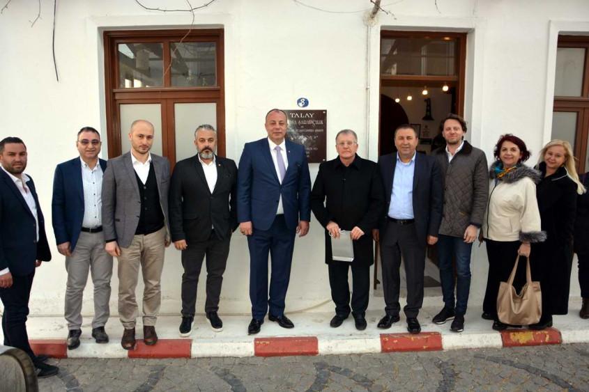 ÇTSO, Bozcaada'daki Üyeleriyle Bir Araya Geldi