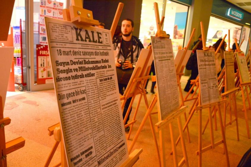 Dünden Bugüne Yerel Basında 18 Mart Zaferi Sergisi Açıldı