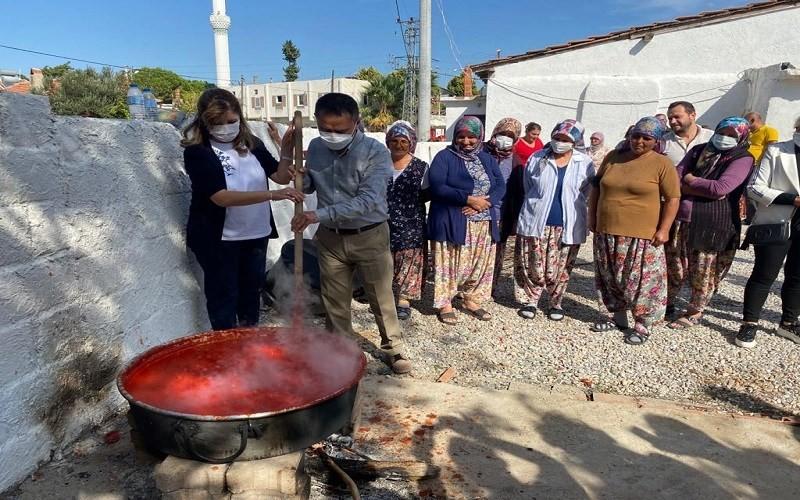 Etnoköy Çıplak'ta Agro Turizm Etkinliği
