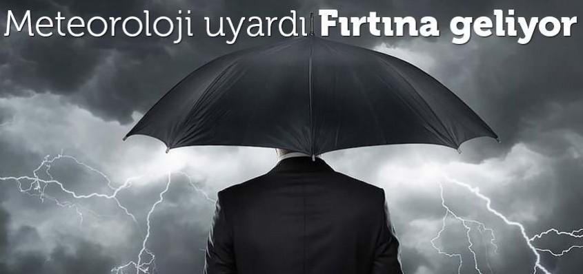 Çanakkale'de Şiddetli Fırtınaya Dikkat!