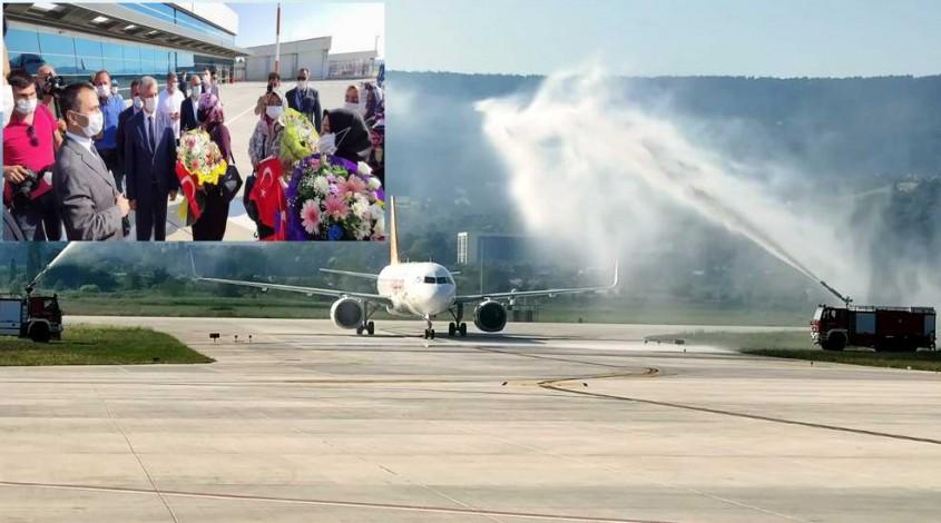 Gaziantep - Çanakkale Uçak Seferleri Başladı