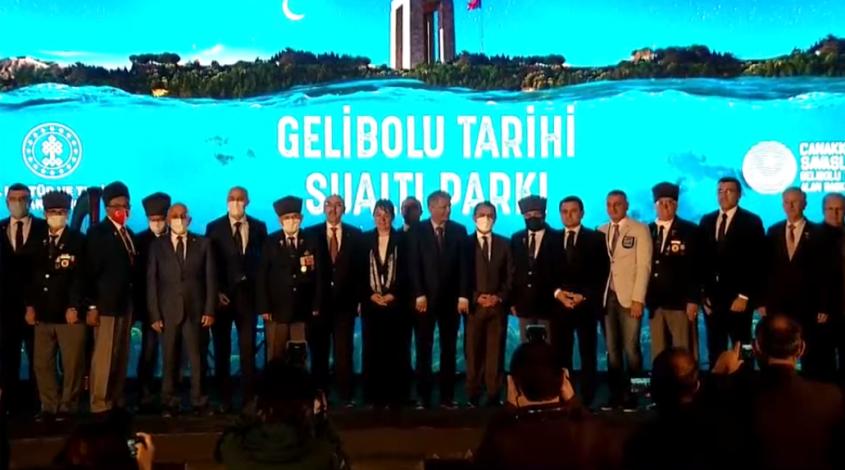 """""""Gelibolu Tarihi Sualtı Parkı"""" Dalış Turizmine Açıldı"""