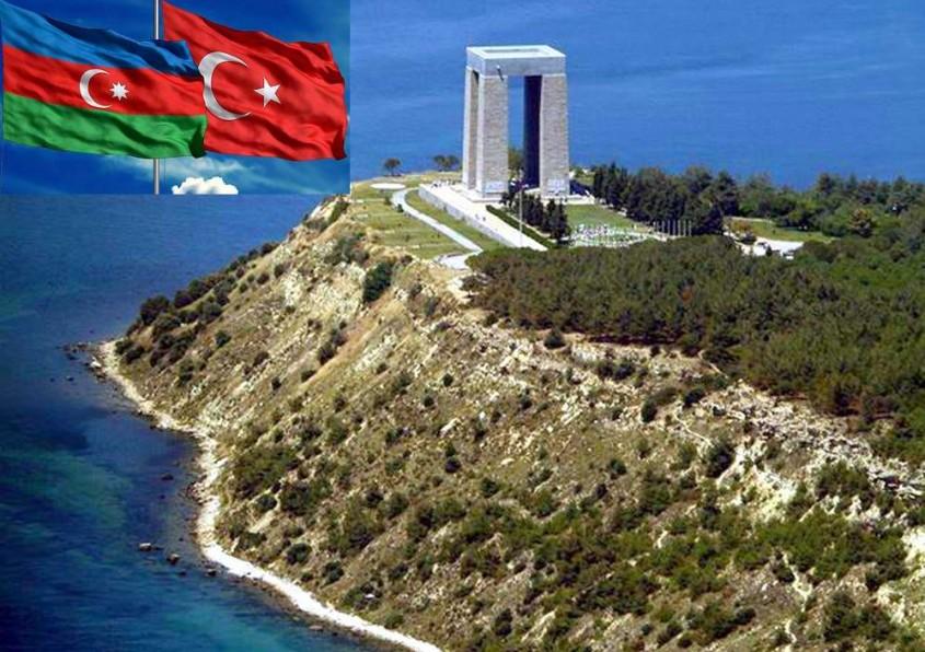 """Gelibolu Yarımadası'na """"Azerbaycan Türk Dostluk Anıtı"""" Yapılacak"""