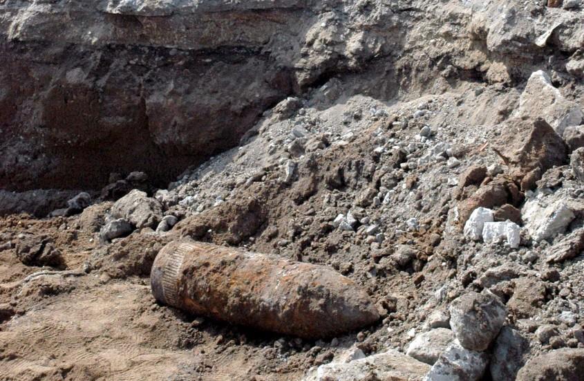 Gelibolu Yarımadası'nda Çanakkale Savaşı'ndan Kalma Top Mermisi Bulundu