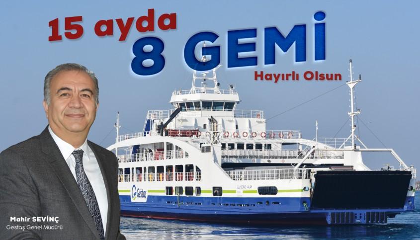 GESTAŞ A.Ş. Envanterindeki Gemi Sayısını Arttırıyor