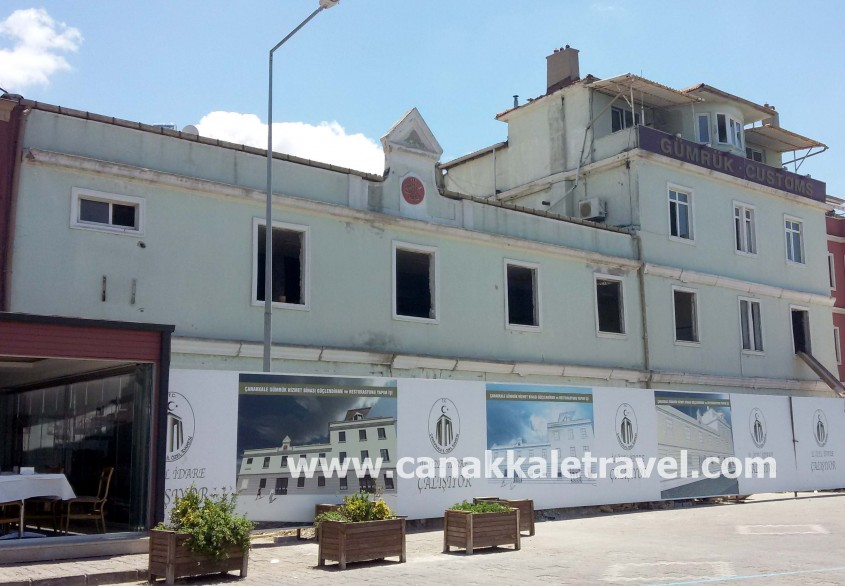 146 Yıllık Tarihi Binada Restorasyon Devam Ediyor