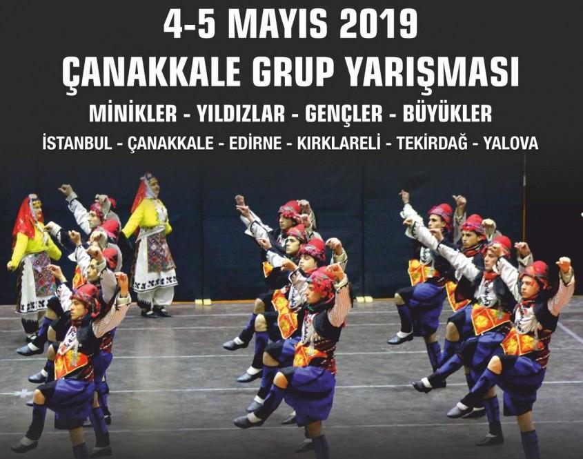 Halk Oyunları Grup Yarışmaları Çanakkale'de Yapılacak