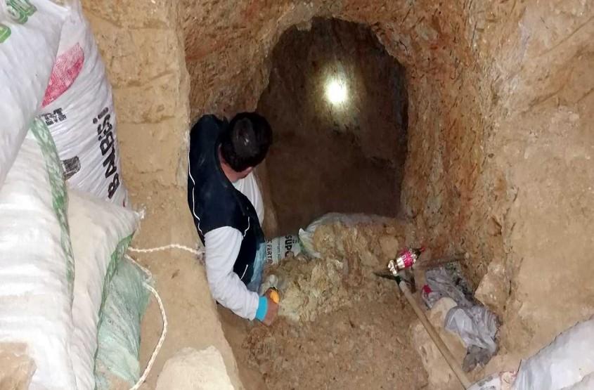 Çan'da Kaçak Kazı Yapanlar Suçüstü Yakalandı