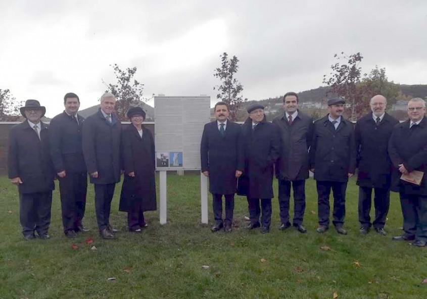 Kanada'da Çanakkale Anıtı'nın Temeli Törenle Atıldı