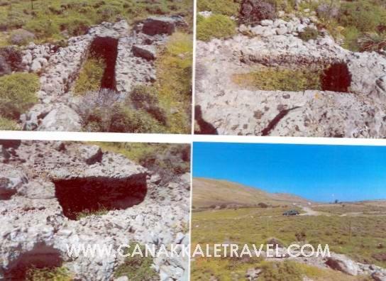 Gökçeada'daki Kaya Mezarı Koruma Altına Alındı